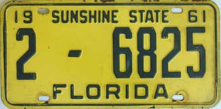 Florida License Plates for Sale - The Tag Dr  Store