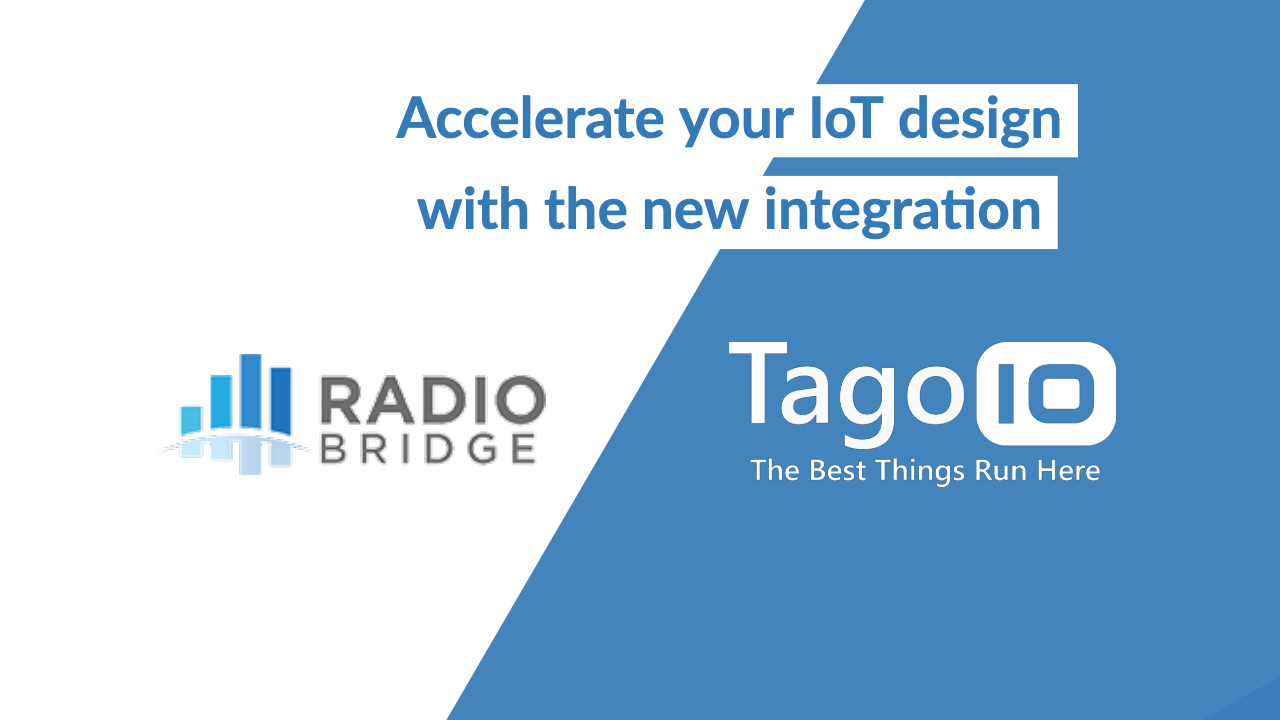 TagoIO RadioBridge partnership