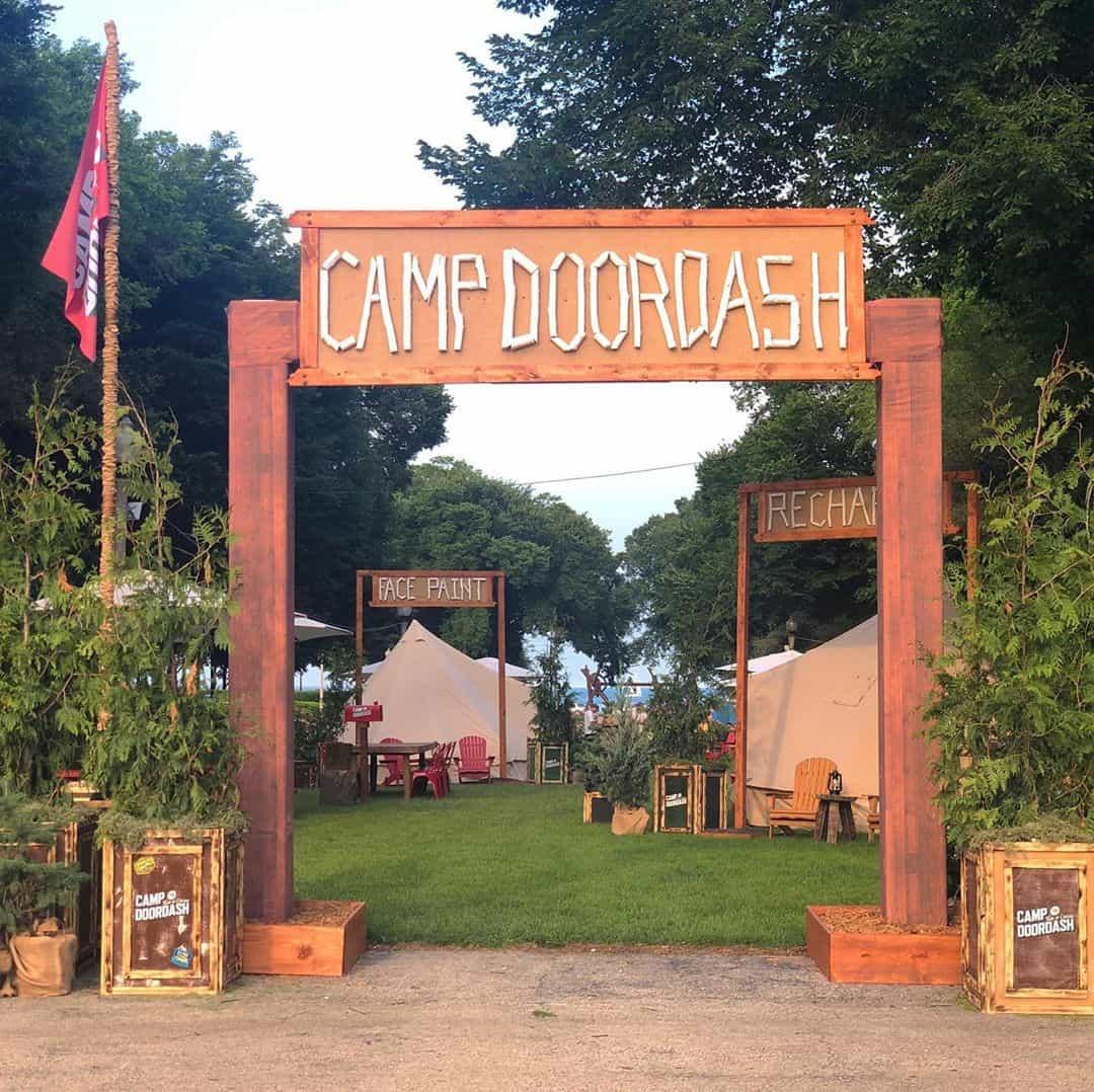 Camp DoorDash - TagPrints
