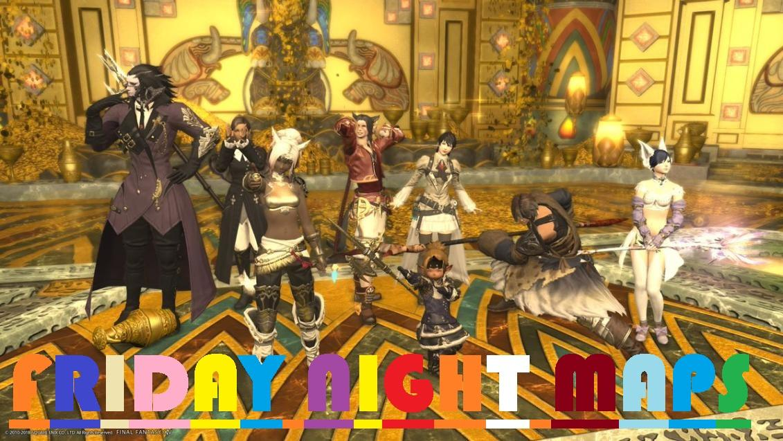 Friday Night Maps with that other Lalafell! - FFXIV Calendar - The