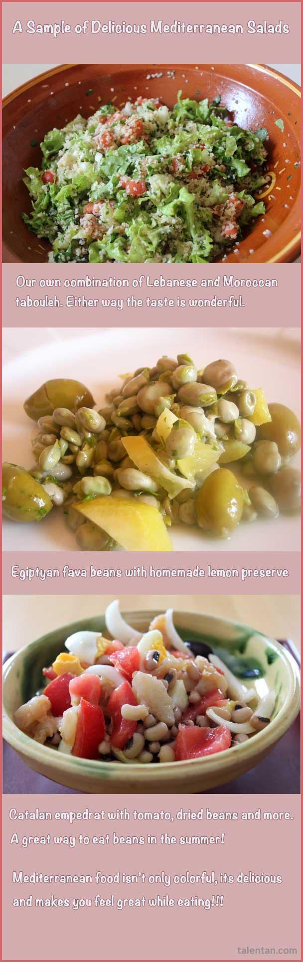 Mediterranean Diet Salads