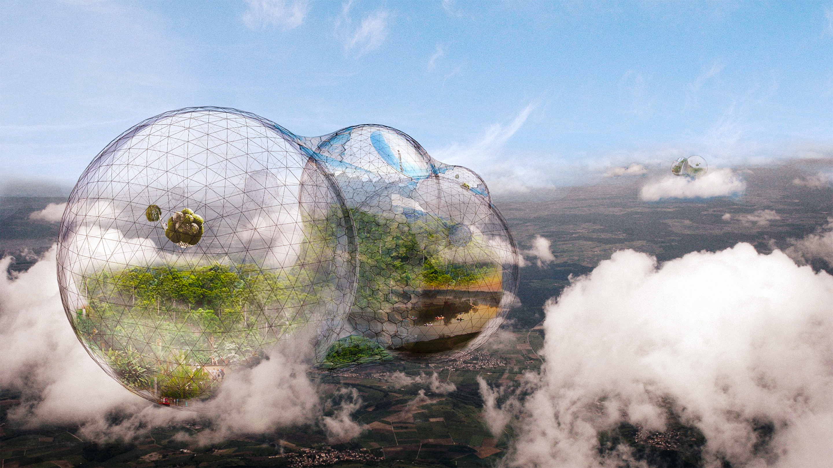 Would You Live In A Floating City In The Sky Beauteous In Orbit Tom%C3%A1s Saraceno