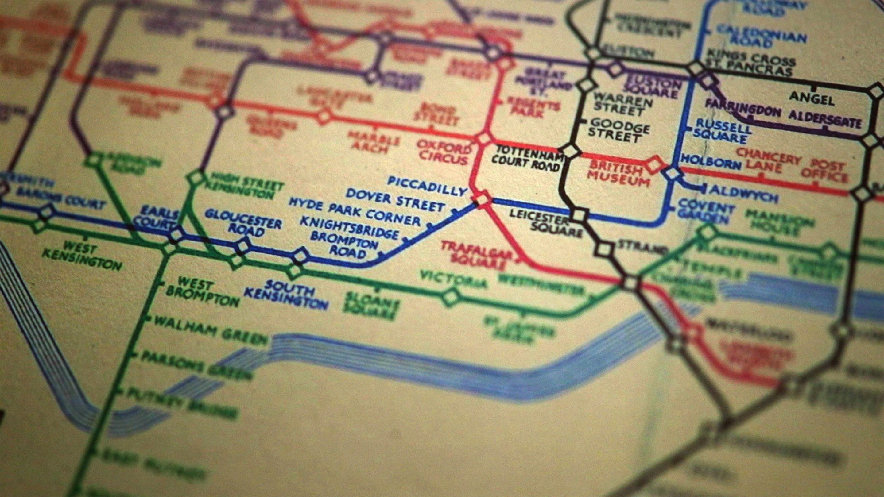 Londin Tube Map Michael Bierut: The genius of the London Tube Map | TED Talk