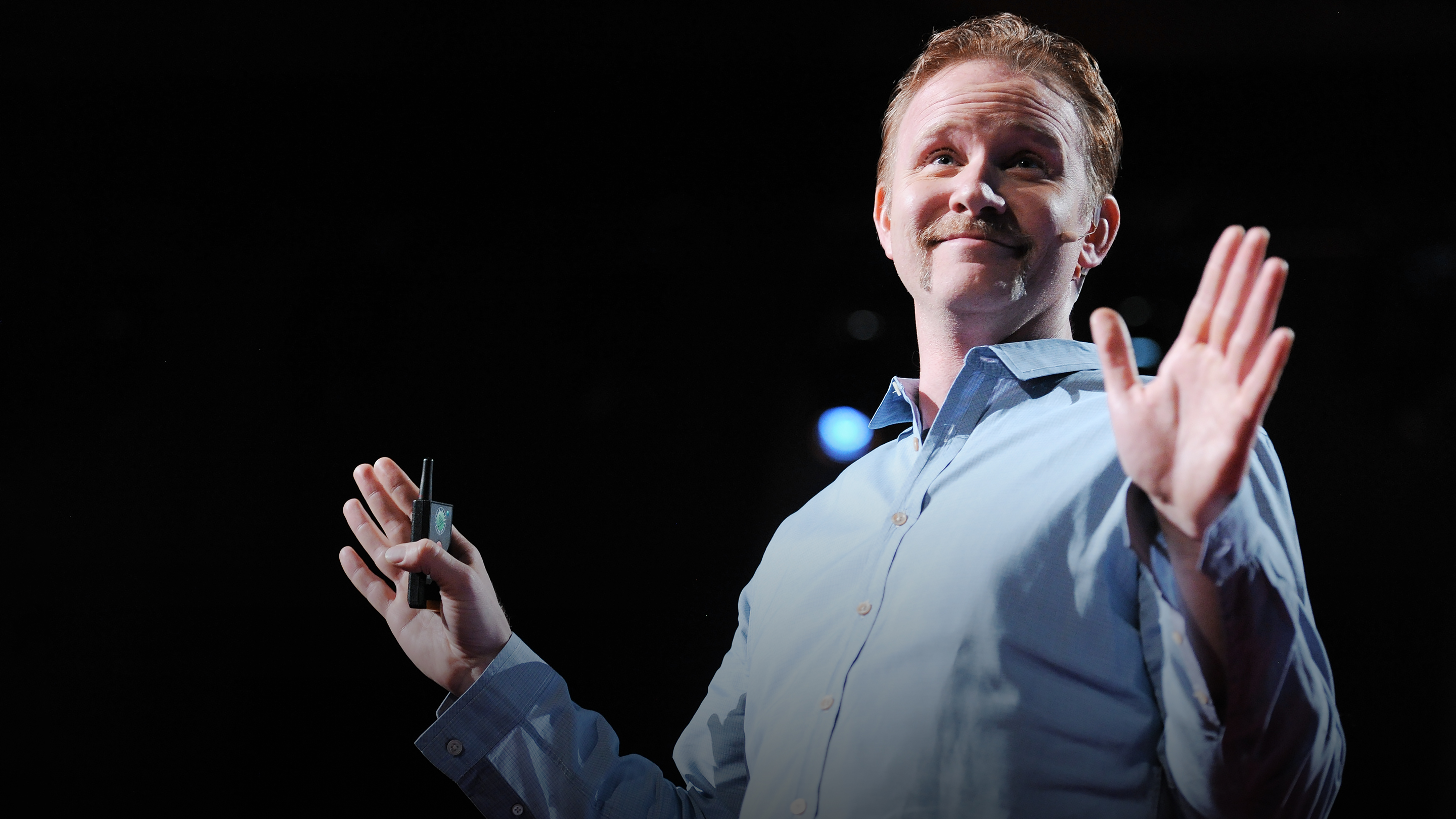 Morgan Spurlock The Greatest Ted Talk Ever Sold Ted Talk