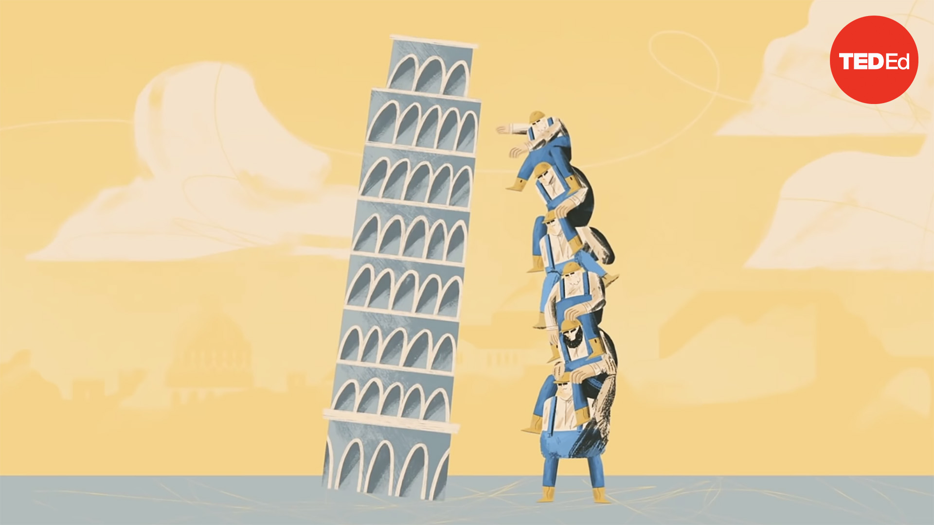 Why Doesn T The Leaning Tower Of Pisa Fall Over
