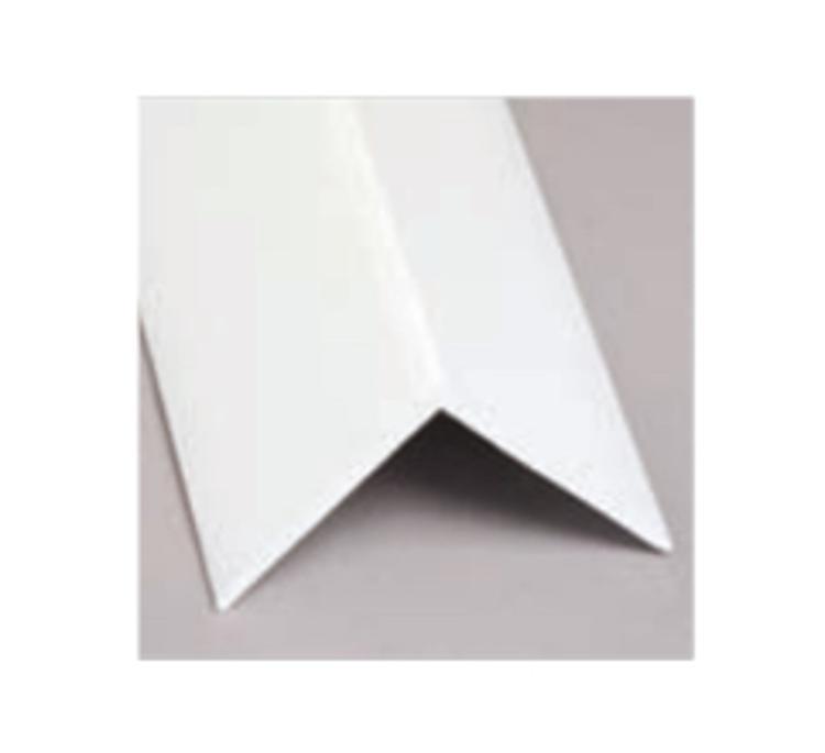 10 Ft Glasteel FRP Outside Angle Corner   White