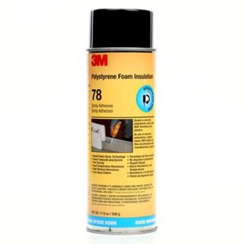 3M Polystyrene Insulation 78 Spray Adhesive