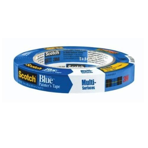 1 in x 60 yd 3M Scotch 2090 Blue Masking Tape