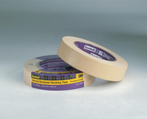 2 in x 60 yd 3M Scotch 2040 Solvent Resistant Masking Tape