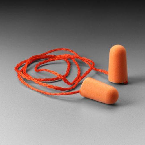Corded Foam Ear Plugs
