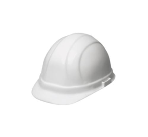 ERB Omega II Cap Style Hard Hat w/ 6-Point Ratchet - White