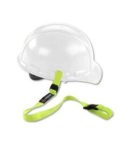 ergodyne Squids Elastic Hard Hat Lime Lanyard w/ Buckle