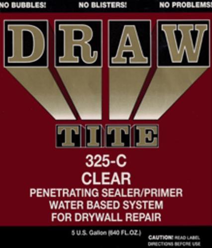 Scotch Paints Draw Tite Penetrating Clear Sealer/Primer - 5 Gallon