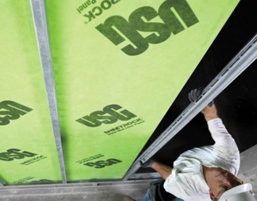 1 in x 2 ft x 10 ft USG Securock Brand Glass-Mat Shaft Wall Liner