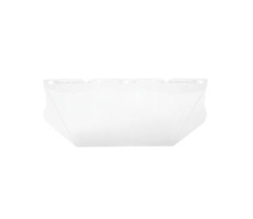 .06 in x 8 in x 17 in MSA V-Gard Visors Contoured Clear PC for General Purpose