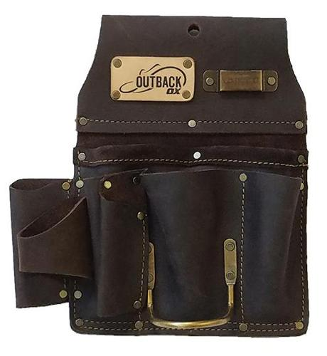 Ox Tools Drywaller's Tool Pouch Oil-Tanned Leather