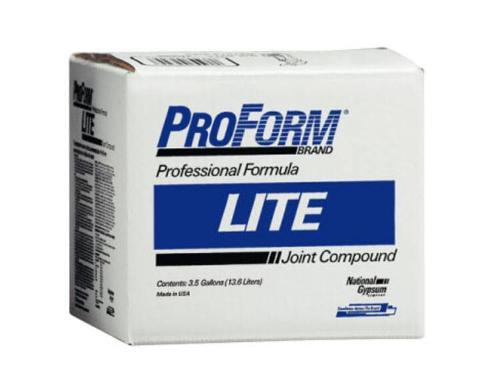 National Gypsum ProForm BRAND Lite Joint Compound - 3.5 Gallon Box
