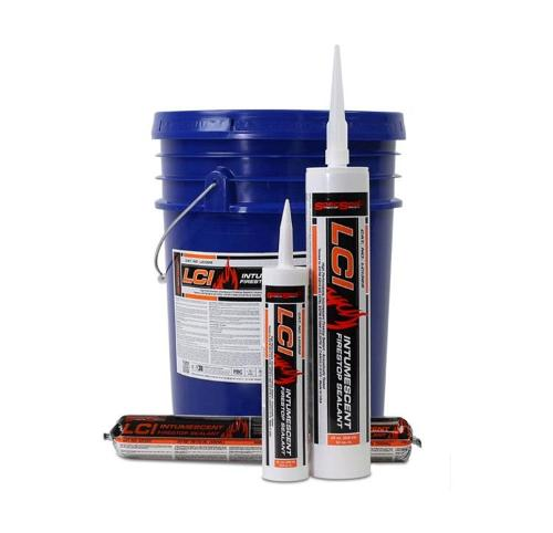 STI SpecSeal LCI Intumescent Red Firestop Sealant - 10.1 oz Tube
