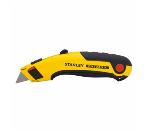 6 5/8 in STANLEY Tools FATMAX Retractable Utility Knife - Yellow/Black