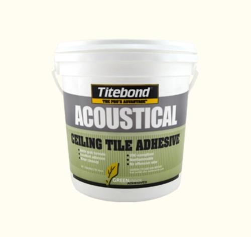 Titebond GREENchoice Acoustical Ceiling Tile Adhesive - 4 Gallon