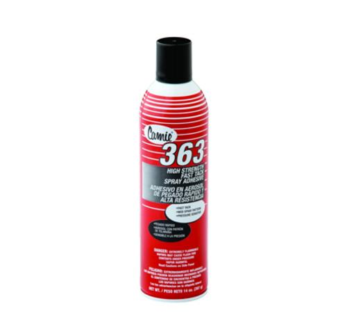 Camie 363 High Strength Fast Tack Spray Adhesive - 14 oz can