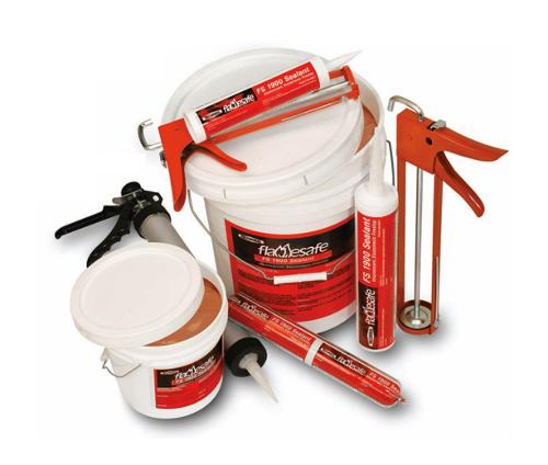 FlameSafe FS 1900 Intumescent Elastomeric Firestop Sealant - 1 Quart