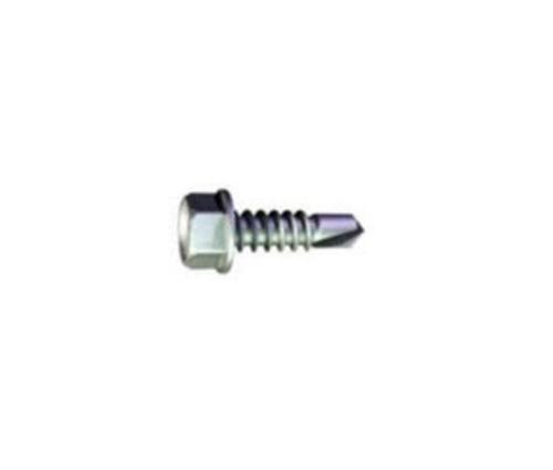 3/4 in x #12 Grabber Hex Head Clear Zinc S-12 Drivall Screw