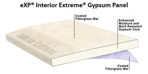 5/8 in x 4 ft x 12 ft National Gypsum Gold Bond BRAND eXP Interior Extreme Gypsum Panel