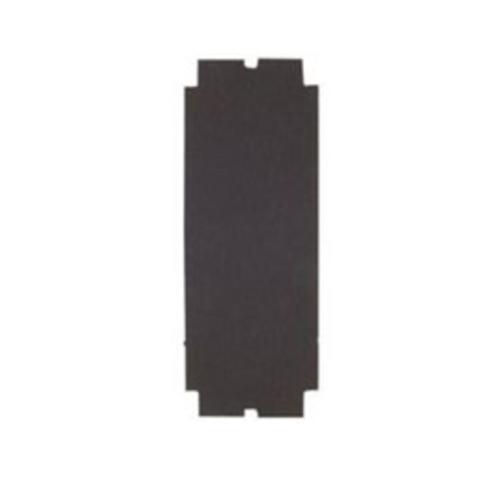 4 3/16  in x 11 in Norton Sanding Sheet - 120 Grit