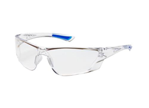 PIP Recon Rimless Safety Glasses - Clear Frame/Clear Anti-Scratch, FogLess 3Sixty Lens