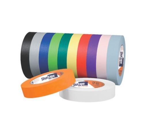 1 1/2 in x 60 yd Shurtape CP 631 General Purpose Masking Tape - Blue