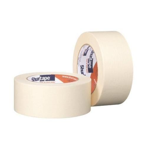 1 1/2 in x 60 yd Shurtape CP 83 Utility Grade High Adhesion Masking Tape
