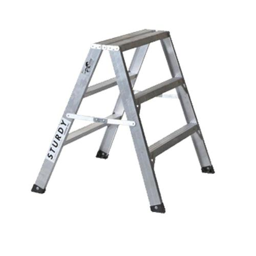 """24 in Sturdy Ladder 130 Series Aluminum Sawhorse """"Mustang"""""""