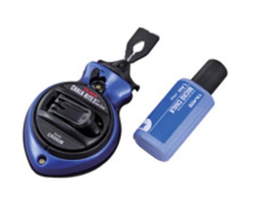 100 ft Tajima Chalk-Rite II Gear Drive Fast-Wind Gear Drive Ultra Thin Chalk Snap-Lines - Blue