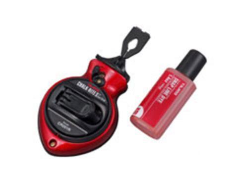 100 ft Tajima Chalk-Rite II Gear Drive Extra Bold Fast-Wind Chalk Snap-Lines - Red