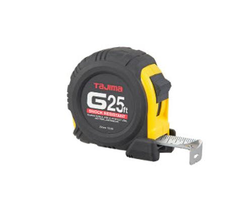 25 ft Tajima G-Series Shock Resistant Tape Measure