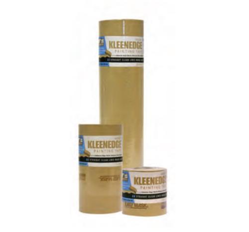 2 in x 180 ft Trimaco KleenEdge Brown Painting Tape - 29 oz