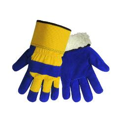 Global Glove Insulated Blue & Yellow Glove - Medium