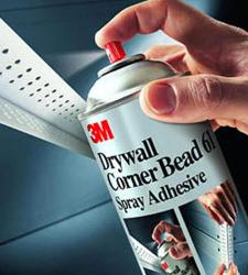 3M Drywall Corner Bead 61 Spray Adhesive - 16.6 oz