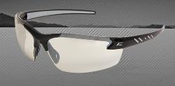 Edge Eyewear Zorge Safety Glasses - Black Frame/Non-Polarized Clear Lens