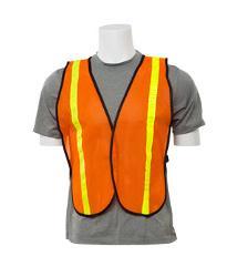 ERB Non-ANSI Reflective Orange Vest - One Size Fits Most