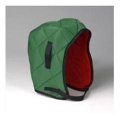 ERB 2500 Quilted Winter Liner - Green/Red