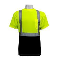 Global Glove FrogWear ANSI Class 2 High Visibility Short Sleeve Shirt - 2 XL