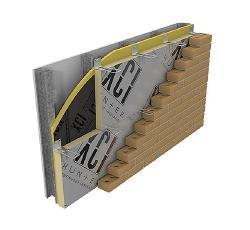 4 in x 100 ft Hunter Panels Xci Foil-Grip 1402 Tape