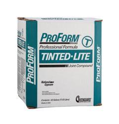 National Gypsum ProForm BRAND Tinted-Lite Joint Compound - 4.5 Gallon Box