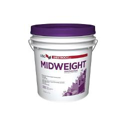 USG Sheetrock Brand Midweight Joint Compound - 3.5 Gallon Box