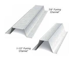 7/8 in x 13 ft x 18 Gauge Furring Channel/Hat Channel