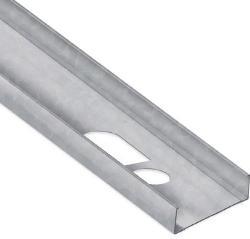 6 in x 21 ft 4 1/4 in x 18 Gauge 43 mil Structural Steel Stud w/ 1 5/8 in Flange