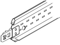 4 ft x 1 1/2 in Armstrong Drywall Grid System Cross Tee - XL8945