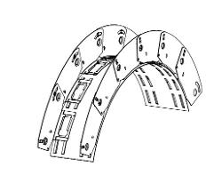 3 5/8 in x 20 Gauge 30 mil Flex-C Arch